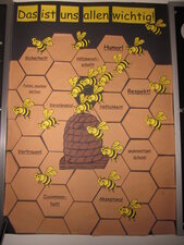 Bienenwaben - Das ist uns allen wichtig!